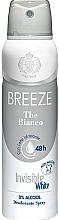 Духи, Парфюмерия, косметика Breeze Deo Spray The Bianco - Дезодорант для тела