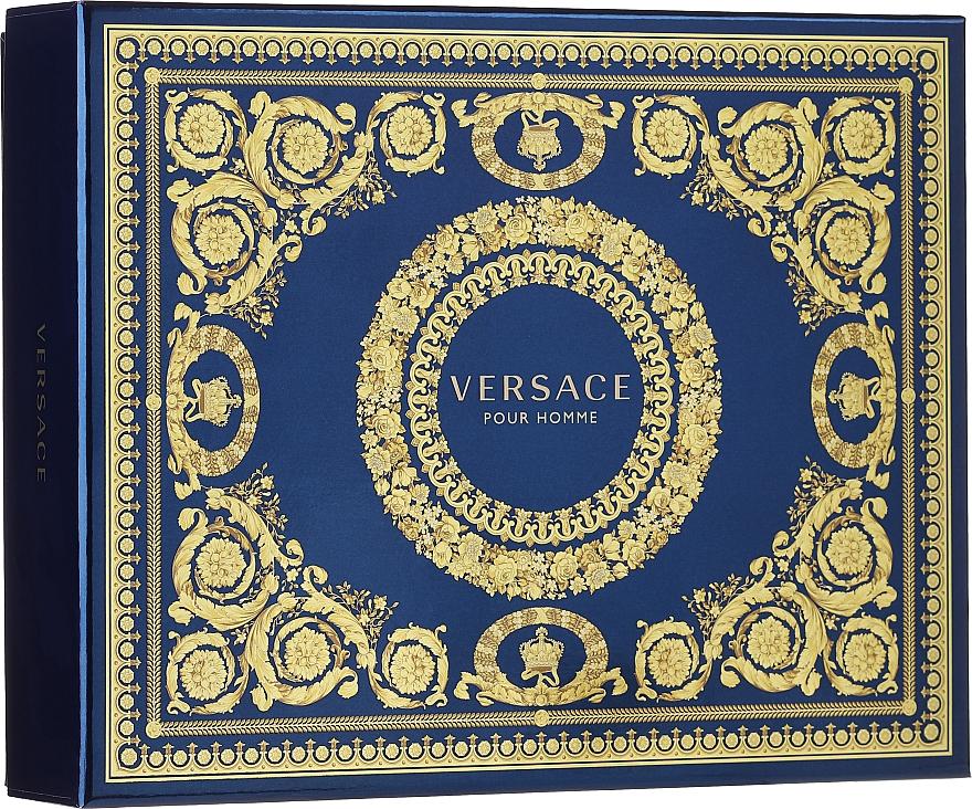 Versace Pour Homme - Набор (edt/50ml + sh/g/50ml + ash/balm/50ml)