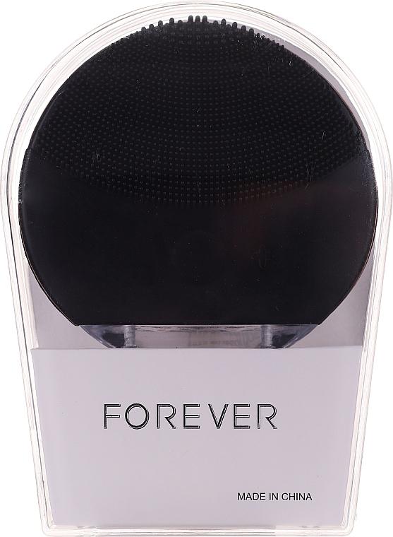 Щетка для очищения лица, черная - Forever Lina Facial Cleansing Brush Black