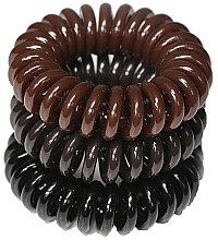Духи, Парфюмерия, косметика Резинки для волос, 3,5 см - Ronney Professional S13 MAT Funny Ring Bubble