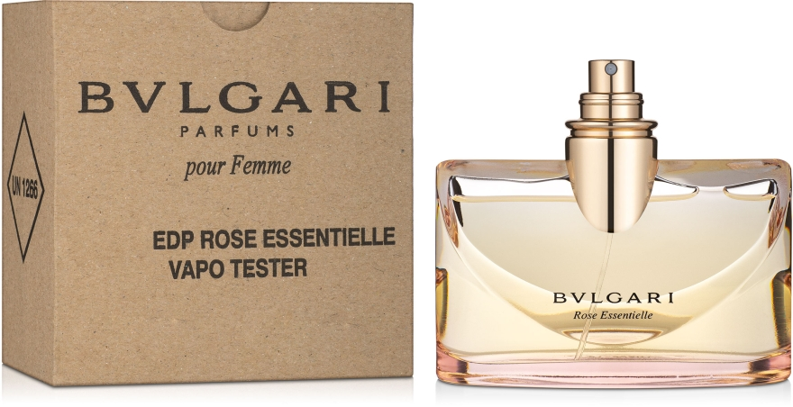 Bvlgari Rose Essentielle - Парфумована вода (тестер без кришечки) — фото N1