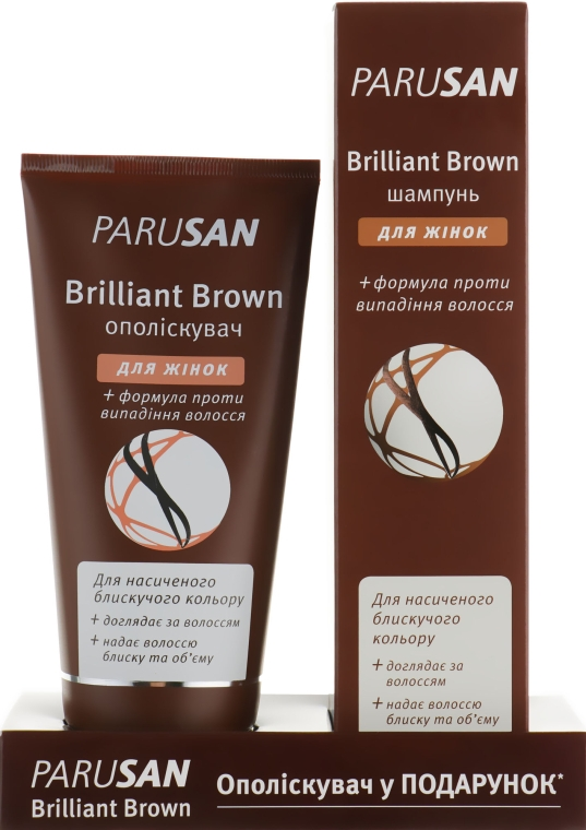 Набор - Parusan Brilliant Brown (shm/200ml + cond/150ml)