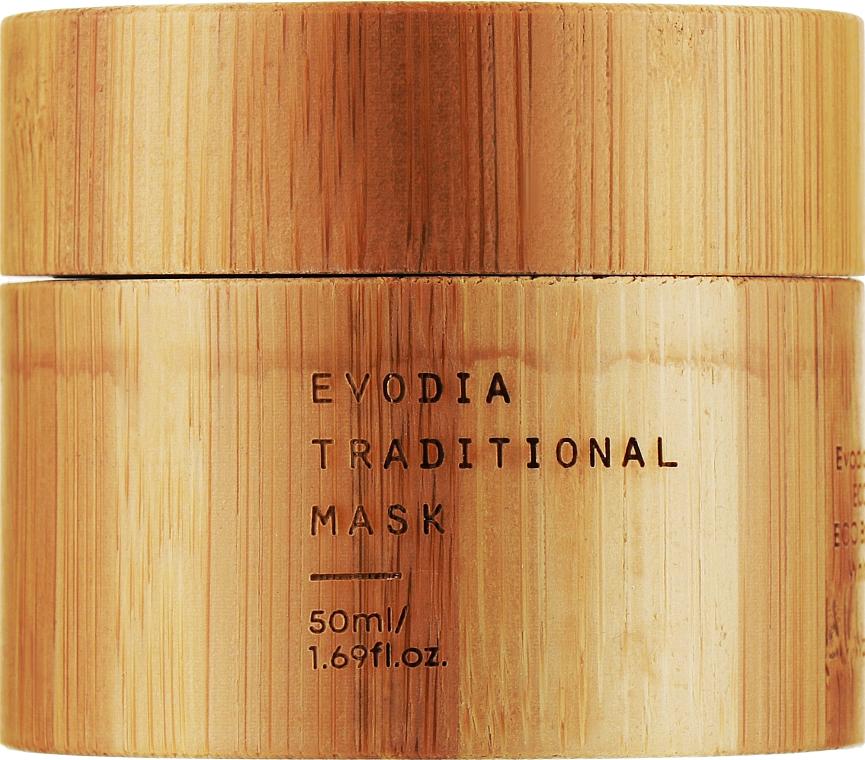 Омолаживающая маска для лица - Bamboology Evodia Traditional Mask