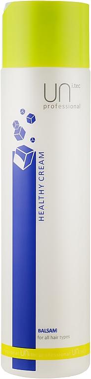 Кондиционирующий бальзам для волос - UNi.tec Professional Healthy Cream Balsam