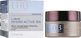 Духи, Парфюмерия, косметика Увлажняющий питательный ночной крем для лица - Lirene Lab Therapy Moisture L-Bion Hydro Active 15% Cream