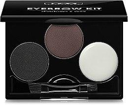 Духи, Парфюмерия, косметика Набор для бровей - Lamel Professional Eye Brow Kit (тестер)