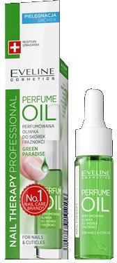 Арома масло для кутикул и ногтей - Eveline Cosmetics Nail Therapy Professional Green Paradise