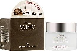 Духи, Парфюмерия, косметика Крем для лица с муцином улитки - Scinic Snail Matrix Cream