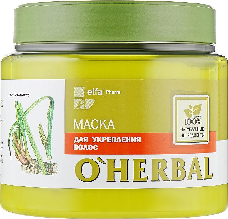Маска для укрепления волос - O'Herbal