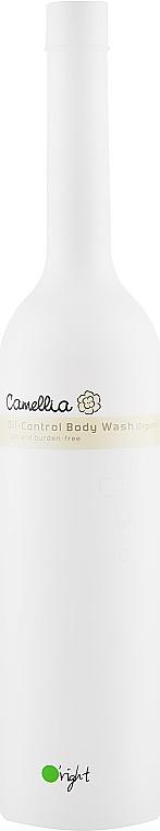 "Гель для душа Oil-контроль ""Камелия"" - O'right Camellia Oil-Control Body Wash"
