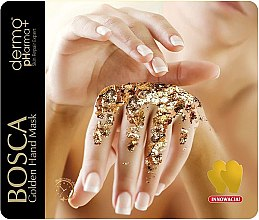 Духи, Парфюмерия, косметика Золотая маска для рук - Dermo Pharma Bosca Golden Hand Mask 24k
