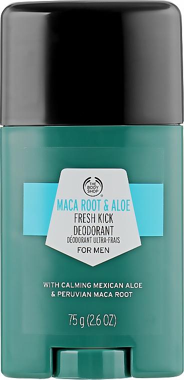 "Дезодорант ""Корень маки и алоэ"" - The Body Shop Maca Root & Aloe Fresh Kick Deodorant"