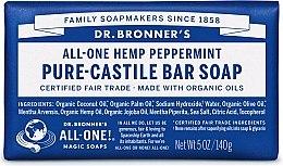"""Духи, Парфюмерия, косметика Мыло """"Мята"""" - Dr. Bronner's Pure Castile Bar Soap Peppermint"""