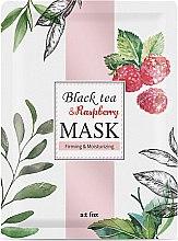 "Духи, Парфюмерия, косметика Маска для лица укрепляющая и увлажняющая ""Black Tea Raspberry"" - A:t fox Black Tea Raspberry Mask"
