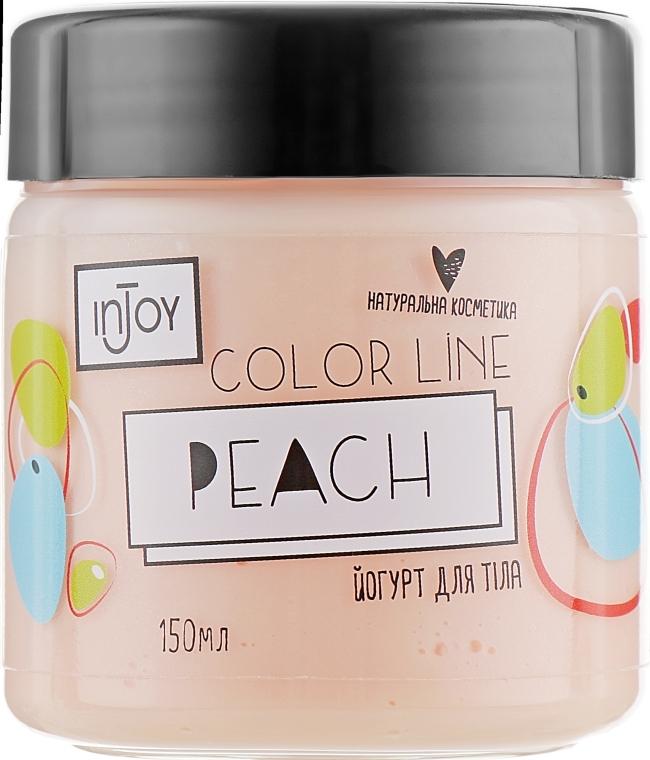 Персиковый йогурт для тела - InJoy Color Line Peach
