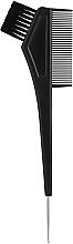 Духи, Парфюмерия, косметика Кисть для окрашивания с гребешком и крючком, черная - Hairway Tint Brush Black