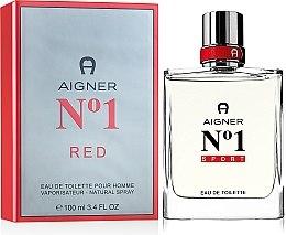 Духи, Парфюмерия, косметика Aigner No 1 Red - Туалетная вода