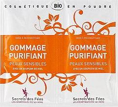 Духи, Парфюмерия, косметика Скраб увлажняющий для чувствительной кожи - Secrets des Fees Gommage Purifiant
