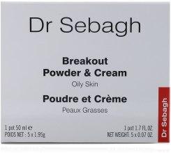 Духи, Парфюмерия, косметика Комплекс для ухода за жирной кожей - Dr Sebagh Breakout Powder & Cream for Oily Skin