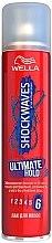 """Парфумерія, косметика Лак для волосся """"Максимальна фіксація"""" - Wella ShockWaves Ultramate Hold"""