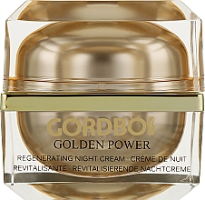 Духи, Парфюмерия, косметика Ночной крем для лица - Gordbos Golden Power Regenerating Night Cream