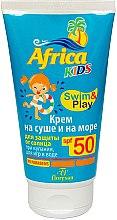 """Духи, Парфюмерия, косметика Крем солнцезащитный """"На суше и на море"""" - Floresan Cosmetics Africa Kids SPF50"""