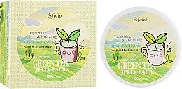 Духи, Парфюмерия, косметика Гель-маска для лица с экстрактом зеленого чая - Esfolio Green Tea Jelly Pack