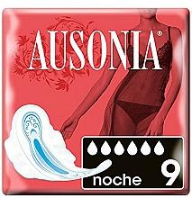 Духи, Парфюмерия, косметика Ночные прокладки с крылышками, 9 шт - Ausonia Night Ultra Towels