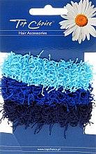 Духи, Парфюмерия, косметика Резинки для волос 3 шт, синие - Top Choice