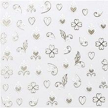 Духи, Парфюмерия, косметика Наклейки для дизайна ногтей - Peggy Sage Decorative Nail Stickers Spring Chic