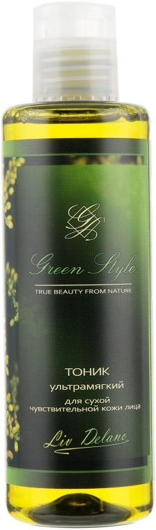 Тоник ультрамягкий для сухой и чувствительной кожи лица - Liv Delano Green Style Tonic — фото N1