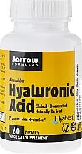 Духи, Парфюмерия, косметика Чистая гиалуроновая кислота, в капсулах - Jarrow Formulas Hyaluronic Acid
