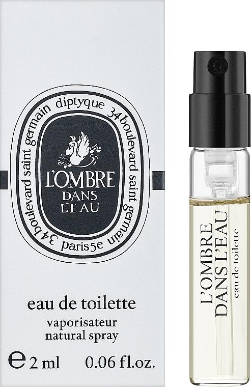 Diptyque L'Ombre Dans L'Eau - Туалетная вода (пробник)