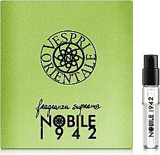 Духи, Парфюмерия, косметика Nobile 1942 Vespri Orteintale - Парфюмированная вода (пробник)