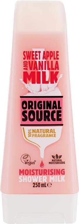 """Увлажняющий гель для душа """"Сладкое яблоко и ваниль"""" - Original Source Shower Milk Sweet Apple&Vanilla"""