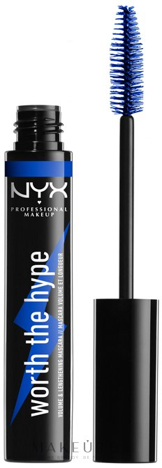Тушь для ресниц - NYX Professional Makeup Professional Worth the Hype Volumizing & Lengthening Mascara — фото Blue