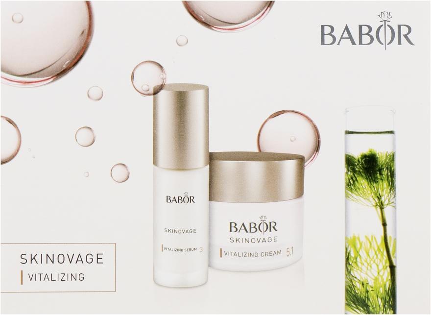 Набор пробников - Babor Skinovage Vitalizing (cr/2ml+cr/2ml+ser/2ml)