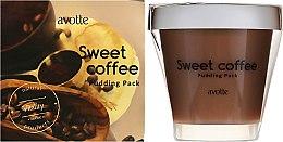 Пудинг-маска - Avotte Sweet Coffee Pudding — фото N1
