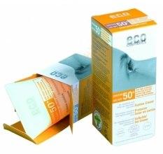 Духи, Парфюмерия, косметика Солнцезащитный крем SPF 50+ с экстрактом граната и облепихи - Eco Cosmetics Suntan Cream SPF 50+