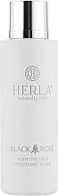 Духи, Парфюмерия, косметика Питательный тонер для лица - Herla Black Rose Nutritive Face Smoothing Toner