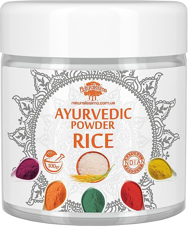 "Аюрведическая пудра ""Рис"" - Naturalissimo Ayurvedic Powder Rice"
