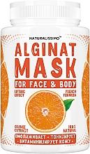 Духи, Парфюмерия, косметика Альгинатная маска с апельсином - Naturalissimoo Orange Alginat Mask