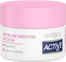 Духи, Парфюмерия, косметика Дневной матирующий крем для лица - Uroda Active 90 Matting&Smoothing Day Cream