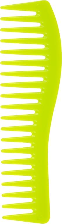 Расческа для волос, 00420, желтая - Eurostil