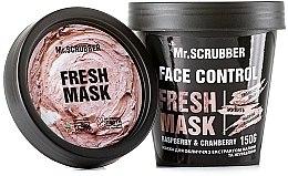 Духи, Парфюмерия, косметика Маска для лица - Mr.Scrubber Face Control Fresh Mask