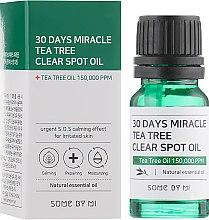 Духи, Парфюмерия, косметика Масло для лица - Some By Mi 30 Days Miracle Tea Tree Clear Spot Oil