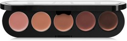 Духи, Парфюмерия, косметика Палитра блесков и помад 5 цветов - Make-Up Atelier Paris Lipsticks Palette