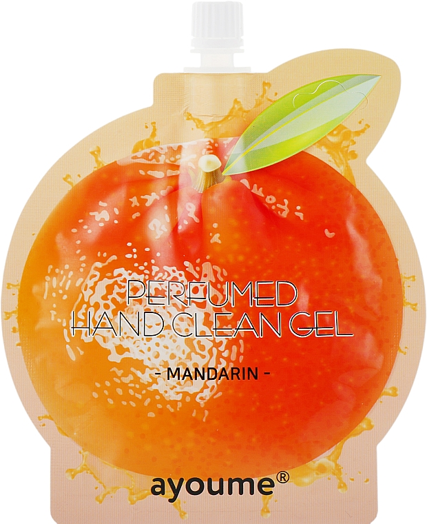 "Крем-антисептик для рук ""Мандарин"" - Ayoume Perfumed Hand Clean Gel Mandarin"