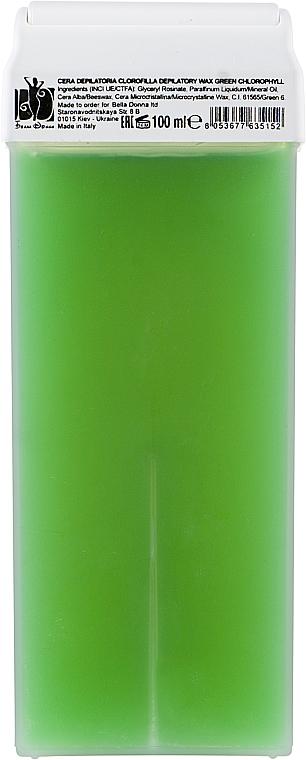 """Воск для депиляции в картридже """"Зеленый"""", для чувствительной кожи - Bella Donna"""