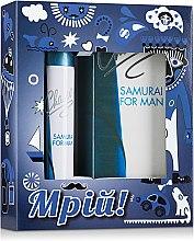 Духи, Парфюмерия, косметика Chaser Samurai For Man - Набор (edt/100ml+deo/75ml)